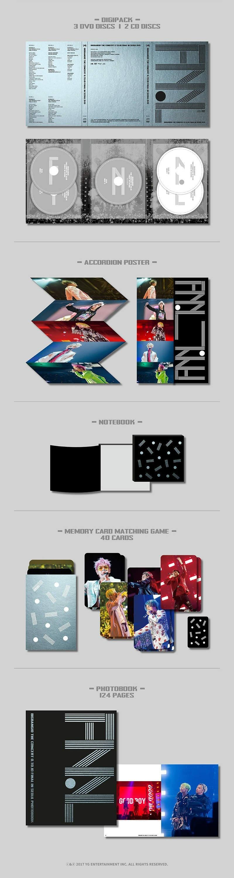 BIGBANG(빅뱅) - BIGBANG10 The Concert 0.TO.10 FINAL in Seoul DVD