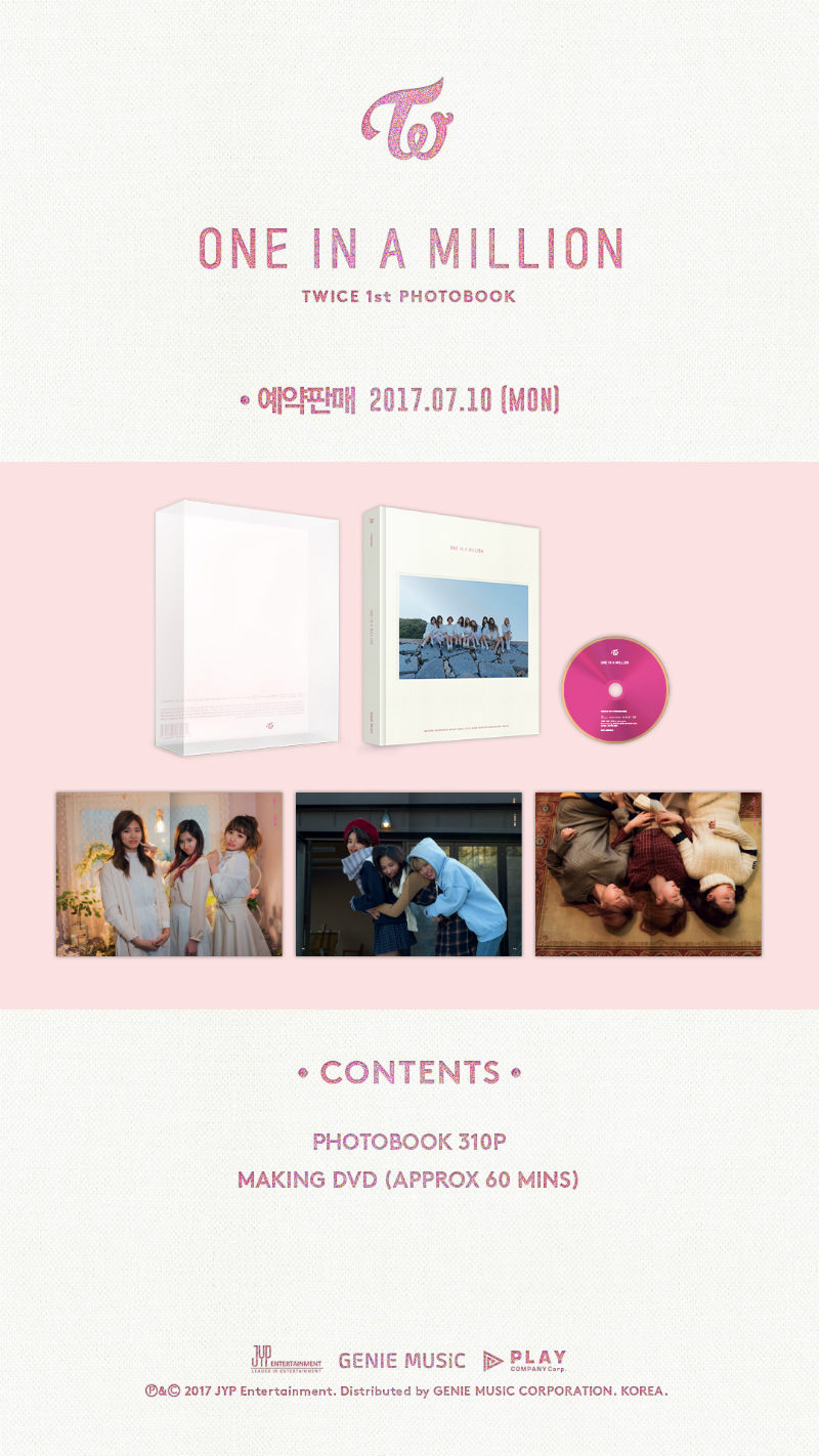 Twice 1st Photobook One In A Million Music Korea