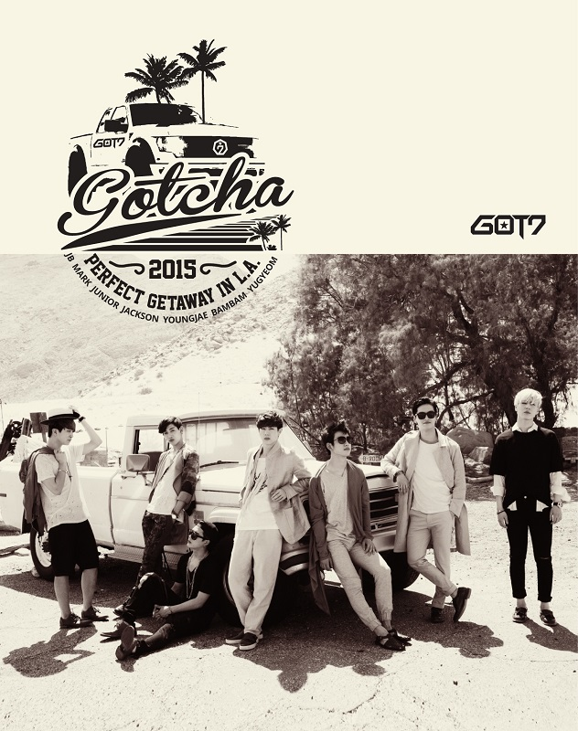GOT7(갓세븐) - 'GOTCHA' - PERFECT GETAWAY IN L.A. - 2nd PHOTOBOOK