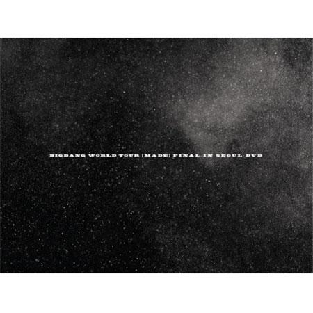 BIGBANG(빅뱅) - WORLD TOUR [MADE] FINAL IN SEOUL DVD