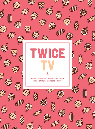 TWICE(트와이스) - TWICE TV4 DVD