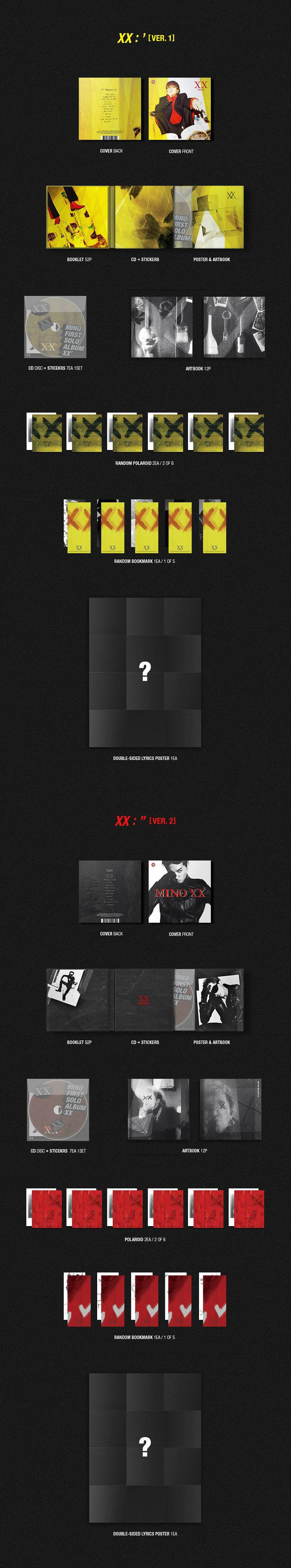 송민호(MINO) - XX [Ver.]