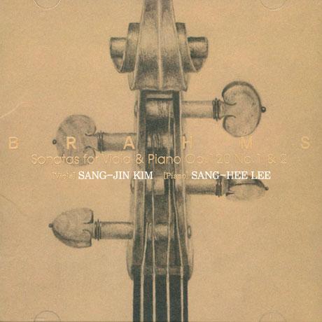 김상진(KIM SANG JIN) - BRAHMS SONATAS FOR VIOLA AND PIANO OP.120 NO.1&2