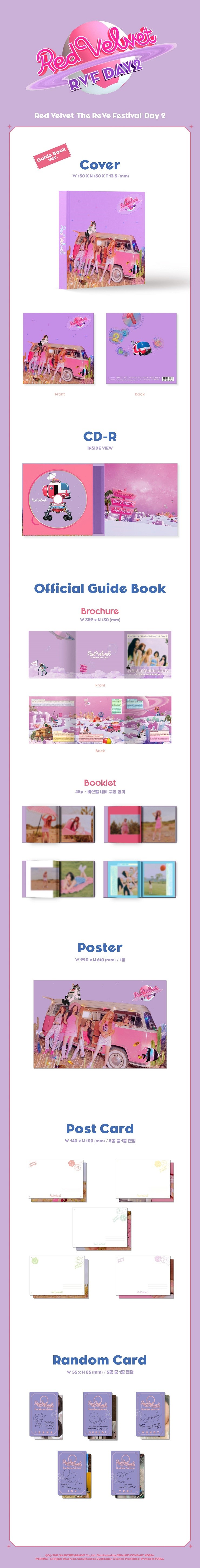 RED VELVET(레드벨벳) - THE REVE FESTIVAL DAY 2 [Guide Book Ver.]