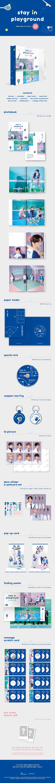 STRAY KIDS(스트레이키즈) - STRAY KIDS 2nd PHOTOBOOK [stay in playground]