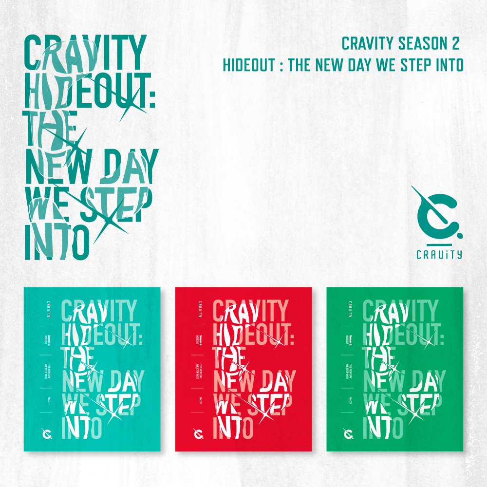 CRAVITY(크래비티) - SEASON2. [HIDEOUT: THE NEW DAY WE STEP INTO] [버전랜덤]