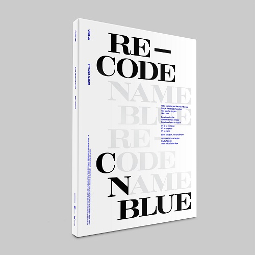 CNBLUE(씨엔블루) - RE-CODE [Special Ver.]