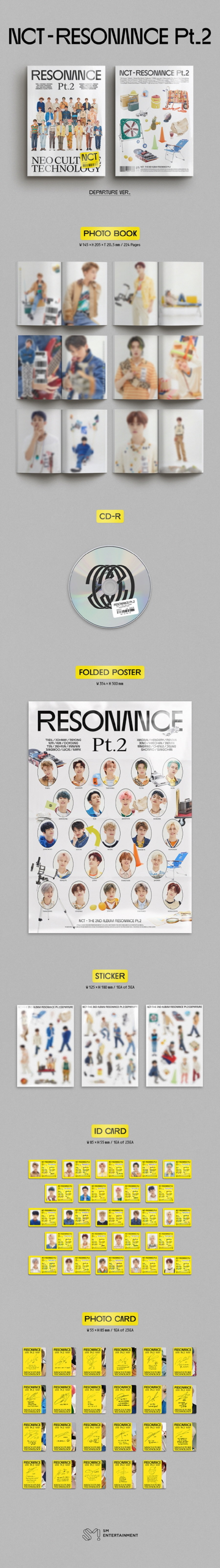 NCT(엔시티) - The 2nd Album RESONANCE Pt.2 [Departure Ver.]