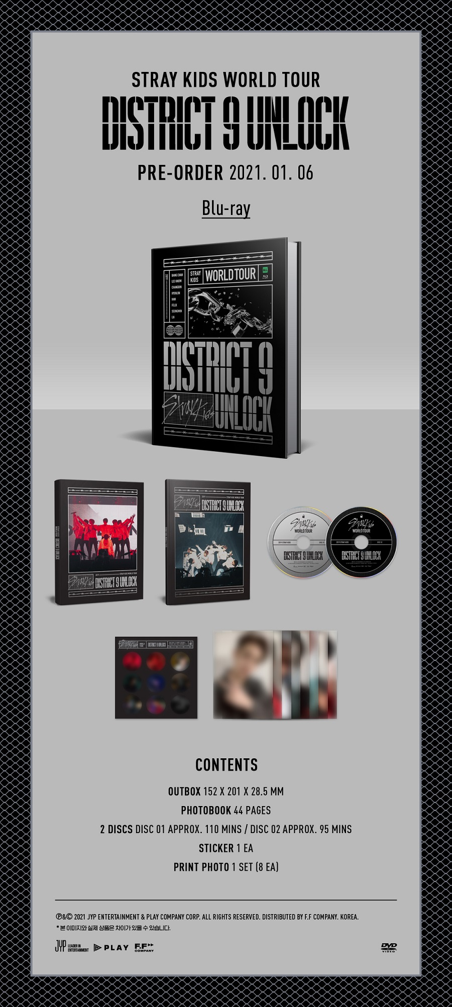 STRAY KIDS(스트레이 키즈) - Stray Kids World Tour 'District 9 : Unlock' in SEOUL BLU-RAY