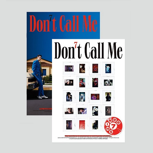 SHINEE(샤이니) - 7집 Don't Call Me [PhotoBook Ver. - 커버랜덤]