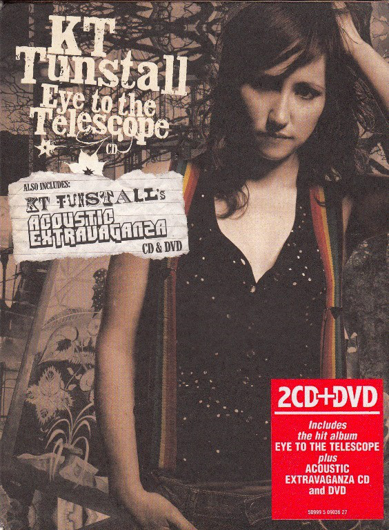 KT TUNSTALL - EYE TO THE TELESCOPE / ACOUSTIC EXTRAVAGANZA [수입]