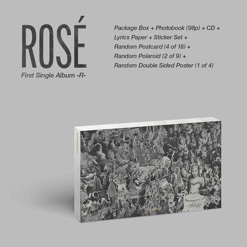 Rosé(로제) - Rosé First Single Album -R-
