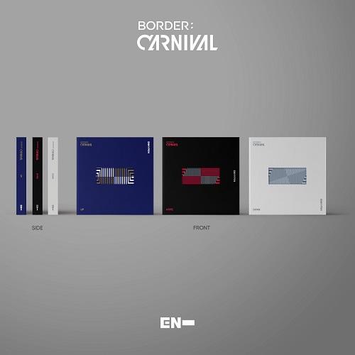 ENHYPEN(엔하이픈) - BORDER : CARNIVAL [버전랜덤]
