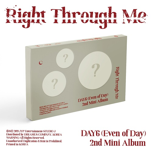 DAY6(Even of Day) - RIGHT THROUGH ME