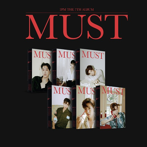 2PM(투피엠) - MUST [한정반 - 버전랜덤]