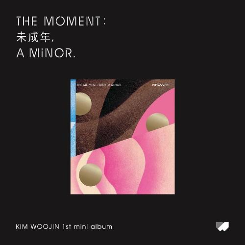 김우진(KIM WOO JIN) - The moment : 未成年, a minor. [C Ver.]