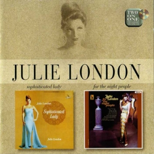 JULIE LONDON - SOPHISTICATED LADY + FOR THE NIGHT PEOPLE [수입]