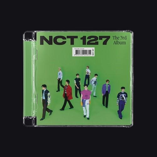NCT 127(엔시티 127) - 3집 STICKER [Jewel Case Ver. - 버전랜덤]