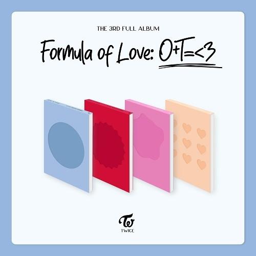 TWICE(트와이스) - Formula of Love: O+T=<3 [버전랜덤]
