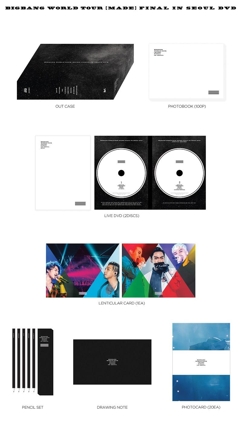 BIGBANG - WORLD TOUR [MADE] FINAL IN SEOUL DVD | MUSIC KOREA